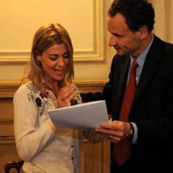 Maria Eugenia Tobal huesped de honor