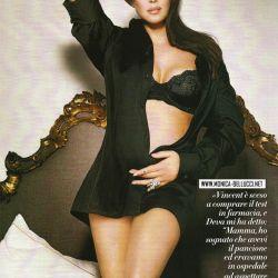 La italiana ya es madre de Deva, de 5 años, fruto de su matrimonio con el actor francés Vincent Cassel.