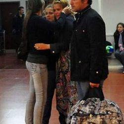 Nazarena volvió a Buenos Aires