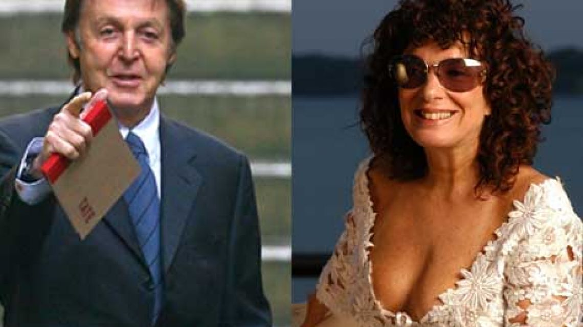 Paul Mc Cartney y Graciela Borges