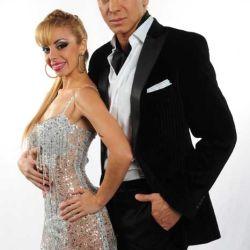 Flavio Mendoza y Gisela Bernal