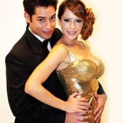 Victoria Vanucci y Diego Gomez