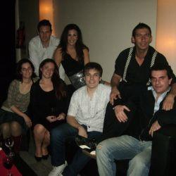Paulino Rodrigues y el equipo de Radio Continental