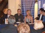 El Dr. Sergio Pasqualini, el Lic. Bernardo Stamateas, Marisa Brel y Claudio María Dominguez