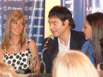 Marisa Brel y Claudio María Dominguez