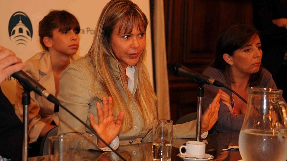 Marie-France Peña Luque declaró ante la comisión investigadora de la causa de las escuchas.