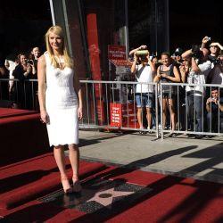 Gwyneth Paltrow recibe su estrella en el Paseo de la Fama