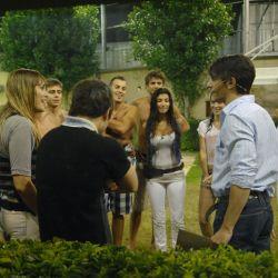 Pablo Echarri en la casa de GH2011