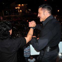 Maradona y Fort