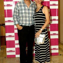 Fernán Mirás y su mujer