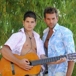 Jonathan y Hernán juntos por el clip con Paula