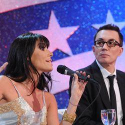 Laura Fidalgo jurado con Polino