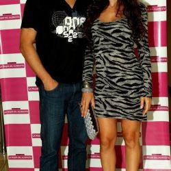 Victoria Onetto y su marido