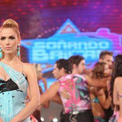 Viviana Canosa en el final de Soñando por Bailar