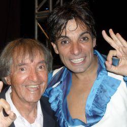 Carlitos Balá y Martín Bossi