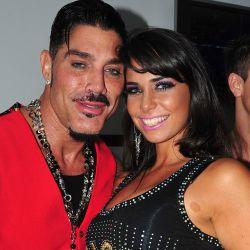 Ricardo Fort y Sabrina Ravelli
