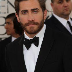 Jake Gyllenhaal en la alfombra roja de la 68º entrega de los Globos de Oro – Foto: AFP
