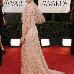 Scarlett Johansson, una de las más bellas de la noche de los Golden Globes – Foto: AFP