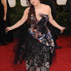 """La actriz Helena Bonham Carter, siempre """"polémica"""" – Foto: AFP"""