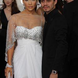 Jennifer López y su esposo, el cantante Marc Anthony – Foto: AFP