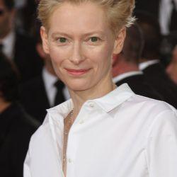 La actriz Tilda Swinton – Foto: AFP