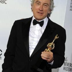 Robert De Niro con su premio a la trayectoria – Foto: EFE