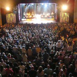 El Teatro Auditorium de Mar del Plata colmado