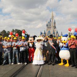 Mineros chilenos en Disney   EFE