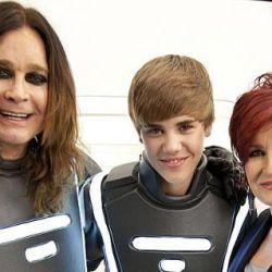 Ozzy Osbourne, Sharon y Justin Bieber