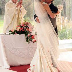 "Casamiento Juana Viale y Raúl Taibo en ""Malparida"""