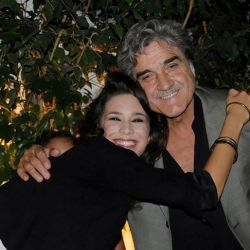Vanesa González junto a su maestro y compañero de elenco Lito Cruz