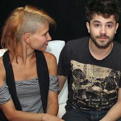 Felipe Colombo con Camila Bordonaba