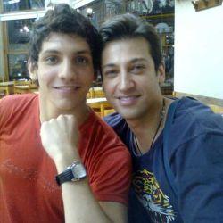 Emiliano Terrazino y Pablito Ruíz
