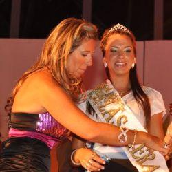 Coronada Reina de la Vendimia de Las Heras