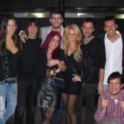 Shakira en el cumpleaños de Gerard Piqué