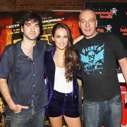Daniel Hendler, Jazmín Stuart y Yayo