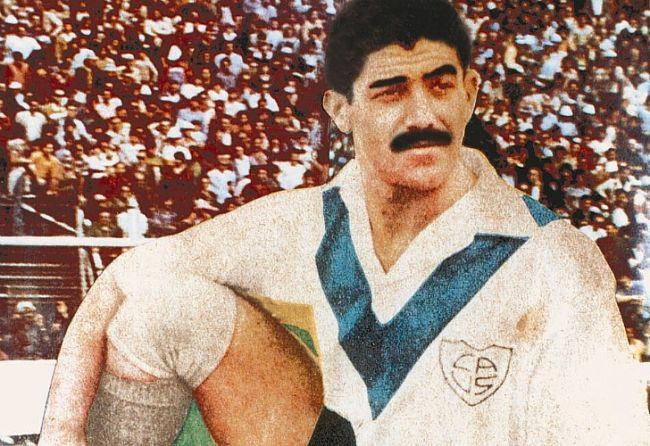 Scliar en sus tiempos de Vélez, donde cumplió buenas actuaciones entre 1944 y 1948. /CeDOC