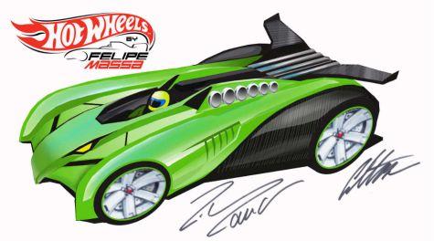 Massa participa en el diseo de un auto para Hot Wheels  Revista