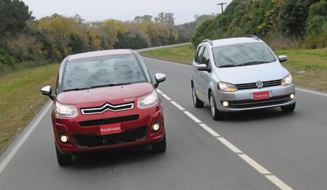 Citroën C3 Picasso Exclusive vs. Volkswagen Suran Highline