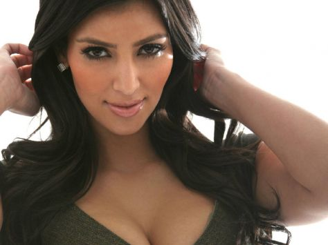 La socialité Kim Kardashian, recientemente separada de Kris Humphries ...