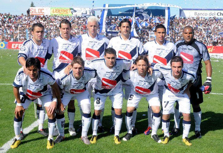 Guillermo Brown logró una goleada clave para su permanencia en Chubut. /Fotobaires