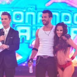 Santiago del Moro, Agustin Morgante y Lourdes Sanchez