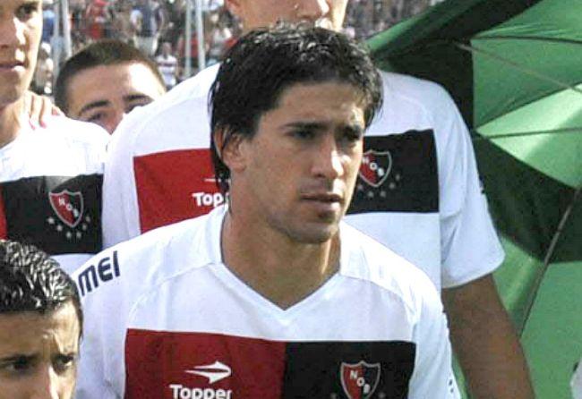 Ex Unión, Pablo Pérez metió el primero de Newell's ante Colón y lo gritó con todo. /Fotobaires