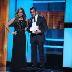 Lola Ponce y Aaron Diaz