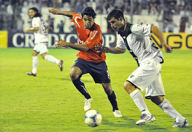 San Martín ganó un partido clave ante Independiente. / Télam