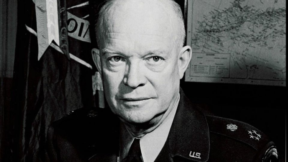 El ex presidente de EEUU, Dwight Eisenhower.