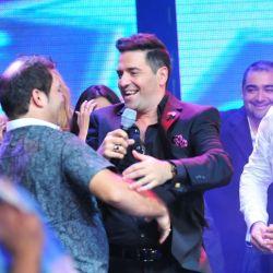 Los ganadores festejan con Mariano
