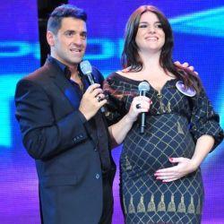 Mariano y Lila embarazada