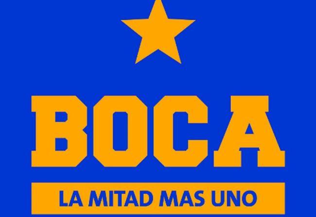 El nuevo logo boquense. /Prensa Boca Juniors