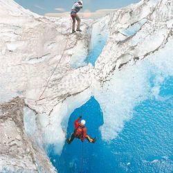 Caminata sobre el Glaciar Viedma